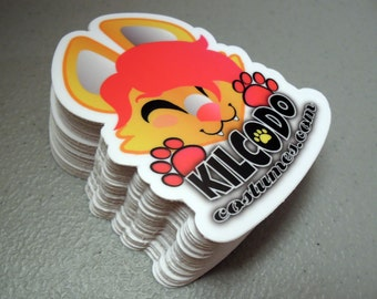 Kilcodo Costumes Vinyl Sticker - Weatherproof UV Laminate
