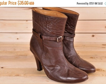 30% OFF High Heel Ankle Boot Size 7