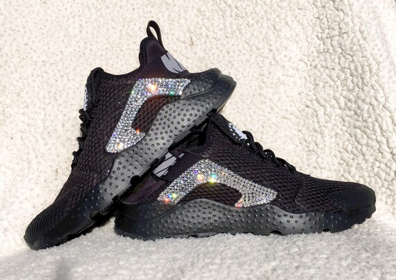 Crystal Nike Air Huarache Breath Bling Shoes with by SparkleNvie outlet 6a9d76a57c