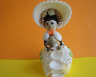 Sea Shell Doll Figurine