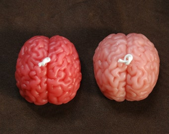 Brain Candle ~ Pure Beeswax Brain Candle ~  Pink Brain Candle