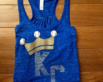 KC Royals bling tank