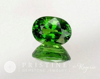 Tsavorite Green Garnet Oval Shape January Birthstone for jewellery
