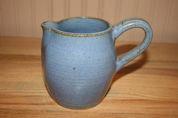 Electric Juicer Pitcher ~ Blue handmade pitcher juice extra large milk