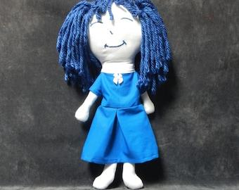 Blue and White Rag Dolls