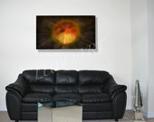 """metal art painting sculpture modern contemporary wall decor abstract unique """"Birth of a Planet"""" hand made Original by Lubo Naydenov"""