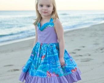 Ariel the little mermaid dress