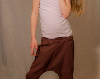 Fun Unisex Linen Pants for Children