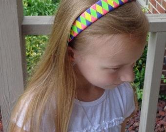NEON Woven Headband~Woven Headband in NEON Colors~Girls Headbands~Woven Headbands~Neon Color Headbands~Headband for Girls~Adult Headbands