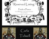 """RESERVED Installment listing for """"CARLA TIDWELL""""- Third Installment/Final Payment for """"Turkey Stand"""" Thanksgiving 2016 Delivery"""