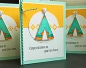 Housewarming Card, Congratulations on your New House Card, New Home Card, Southwestern Card, Tee Pee Card