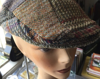 Long Live Ireland and Their Fashionable Toppers Vintage Plaid Golf Cap Hat for Nordstrom