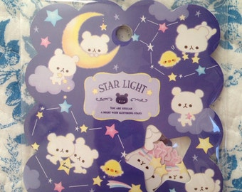 NEW Japanese zakka 50 small sticker flakes