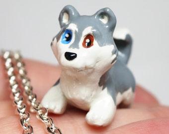 Husky Necklace-Silver