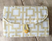 Diapering on the Go - Travel Changing Pad - Yellow GiGi