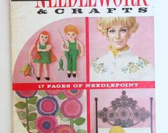 Vintage McCall's Needlework and Crafts Spring-Summer 1970 Magazine