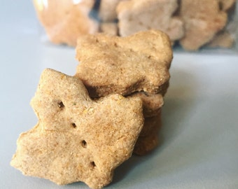 Mini Mighty Maple Leaves - All Natural Maple Dog Treats - 4 Dozen - mini treats - vermont maple syrup