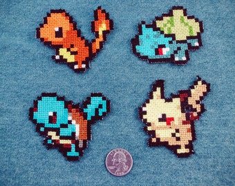 Pokemon Iron-On Patch Set
