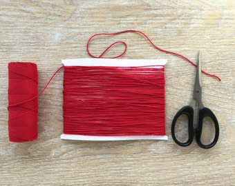 Red Twine, Red baker's twine, red string, Christmas red twine, Christmas packaging, packaging supply, DIY brides