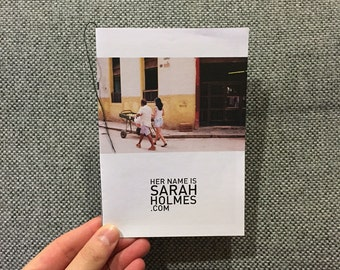 Mini Photo Zine - Havana, Cuba