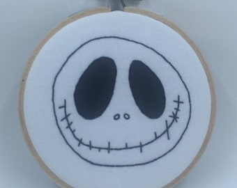 Jack Skellington Embroidery