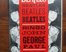 Vintage Collectors BEATLES 20 Wallet Photos, Horoscopes, Biographies