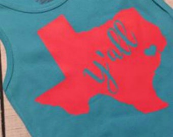 Texas Y'all Shirt