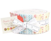 Bespoke Blooms jelly roll by Brenda Riddle for moda fabrics