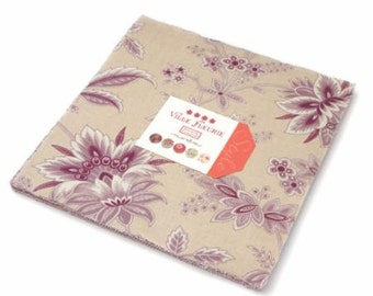 Ville Fleurie charm pack by French General for moda fabrics