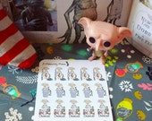 House Elf Chore Sticker Kit for All Planners!