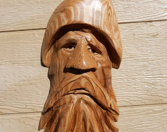 Chainsaw Carving Wood Spirit