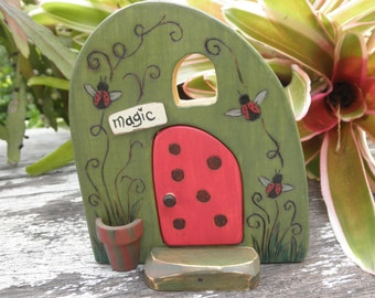 Wood Toy HABITAT-WHIMSICAL-Magic Portal- Pretend Play- Waldorf Inspired