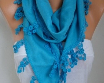 Turquoise Pashmina Scarf,Fall Winter Scarf,Wedding, Hanukkah Oversize Shawl Cowl Bridesmaid Gift Ideas For Her Women's Fashion Accessories