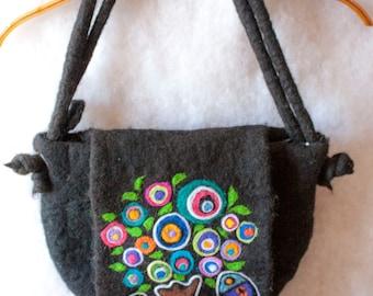 Felt bag-Karla Gerard-sale from 50 USD