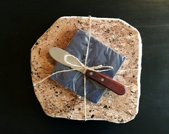 Granite Cheese Board up-cycled Food Slab