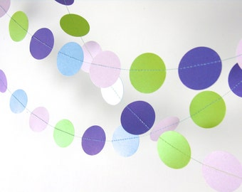 Paper Garland, Lego Friends Party, 20 colors for your choice, Party Decorations, Birthday Decor