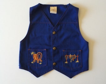 1970's Kids Western Vest (6)