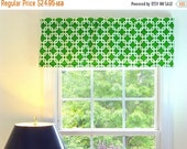 ON SALE living room window treatments, kitchen valances for windows