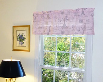 Grey and Pink Window Treatments