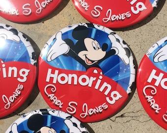 Commemorative Celebratory Button