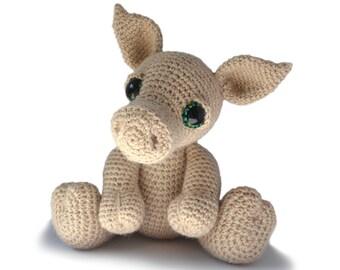 Pig Amigurumi Crochet Pattern PDF Instant Download - Herbie