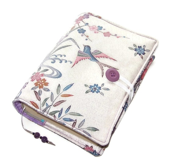 Japanese Fabric Book Cover : Japanese kimono silk book cover bible by