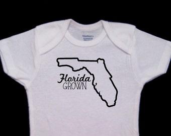 Florida Grown Baby Onesie Bodysuit