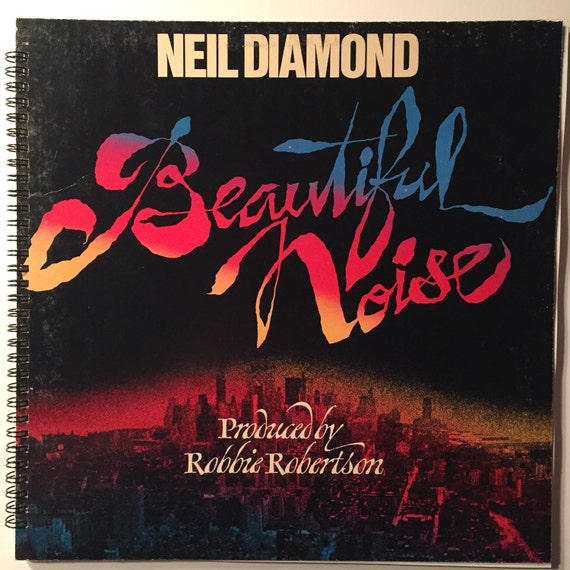 Album Diamond: Neil Diamond Recycled Record Album Cover Book