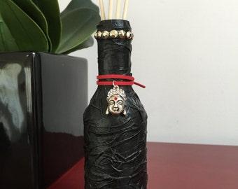 Buddha Altered Wine Bottle Set, Fragrance Oil, Reeds, Scents, Home Decor