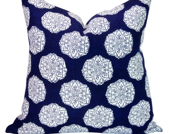Ananda pillow cover in Indigo