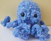 Otto the Octopus Knitted Knit Plush Stuffed Animal Plushie Toy Softie READY TO SHIP