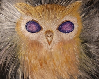 Galaxy eyes Owl