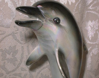 Dolphin - Vintage Figurine - JAPAN - Totem Animal -
