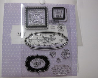 Acrylic Stamp Set - Close to My Heart #C1501 - New Arrival